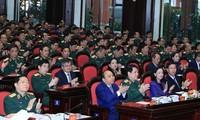 PM Vietnam, Nguyen Xuan Phuc menghadiri Konferensi Politik dan Militer  seluruh tentara-tahun 2019