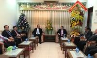 Deputi Harian PM Truong Hoa Binh mengucapkan selamat Hari Natal 2019 di beberapa daerah