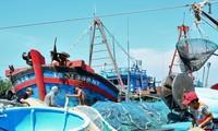Komisi Eropa menarik kartu kuning  kalau  kapal penangkapan ikan Vietnam tidak melanggar  kawasan laut  asing