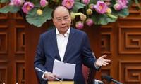 PM Nguyen Xuan Phuc mengirim tilgram untuk menyapa situasi wabah penyakit  radang paru-paru karena  virus Corona di Tiongkok