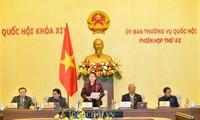 Penutupan persidangan ke-42 Komite Tetap MN Vienam