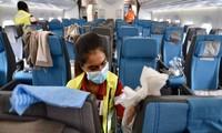 Penerbangan  internasional  menderita kerugian sebanyak 29 miliar USD karena   COVID 19