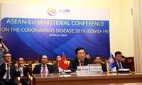 Negara-negara ASEAN dan Uni Eropa aktif memperhebat kerjasama yang erat dalam mencegah dan menanggulangi wabah Covid-19