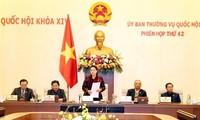 Pembukaan Persidangan ke-43 Komite Tetap MN Vietnam