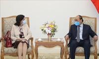 PM Nguyen Xuan Phuc menerima Dubes Kuba untuk Vietnam, Lianys Torres Rivera.