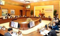 Pembukaan  Persidangan ke-44 Komite Tetap MN Vietnam