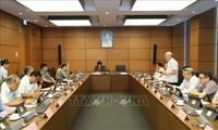 MN Vietnam membahas  RUU mengenai Tenaga Kerja Vietnam  yang bekerja di Luar  Negeri menurut kontrak (amandemen).