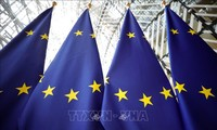 Sidang langsung pertama dari para pemimpin Eropa membahas krisis wabah Covid-19