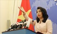 Vietnam memprotes tindakan-tindakan Tiongkok yang melanggar hukum internasional