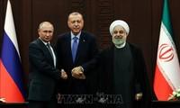 Rusia, Iran dan Turki mengeluarkan pernyataan bersama tentang situasi Suriah