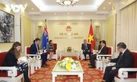 Menteri Keamanan Publik Vietnam, menerima Dubes Australia untuk Vietnam