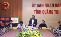 Provinsi Quang Tri bersedia melaksanakan upaya menghadapi topan Saudel  secara tepat  waktu