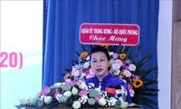 Ketua MN Vietnam, Nguyen Thi  Kim Ngan  menghadiri upacara peringatan  45 tahun berdirinya Rumah Sakit Kedokteran Militer 175