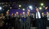 Passation Sarkozy-Hollande, le 15 mai