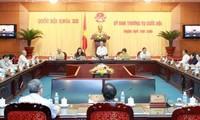 Ouverture de la 9e session du comité permanent de l'Assemblée nationale