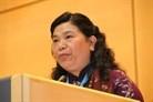 Tong Thi Phong à la conférence sur l'égalité des sexes