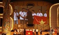 Le Vietnam arrive 2ème du concours Robocon