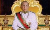 Activités du roi du Cambodge au Vietnam
