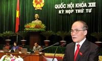 Ouverture de la 4e session de l'Assemblée nationale, 13e législature