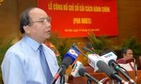 Publication de l'ensemble des indices de réforme administrative