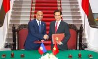 Entretiens entre les dirigeants vietnamiens et le Premier Ministre haïtien