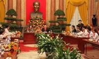 Le président Truong Tan Sang reçoit des enfants en situation difficile