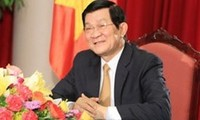 President Truong Tan Sang: All people work for common goal
