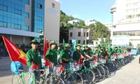 6th Trans-Vietnam Cycling tour 'For the Homeland's Sea and Islands'