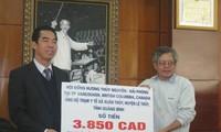 Overseas Vietnamese support disadvantaged Vietnamese fellows