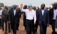 UN Secretary General visits Central African Republic