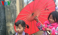 Costumes of Mong women