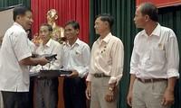 Quang Nam province supports veteran fishermen