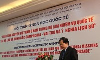 Vietnamese volunteers' role in Laos and Cambodia acknowledged