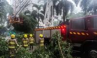 Tropical typhoon Nida hits China's Guangdong province