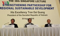 President Tran Dai Quang: unity, joint actions for sustainable development