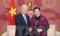 NA Vice Chairwoman Tong Thi Phong wants closer ties with WHO
