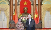 President received new foreign ambassadors