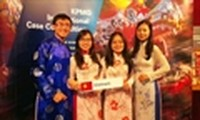 Vietnamese students place 4th at KPMG Competition