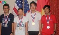 Vietnamese Ambassador to the US congratulates Chemistry Olympiad winners