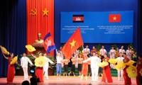Vietnam – Cambodia friendship meeting