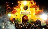 Vietnamese people celebrate Lunar New Year