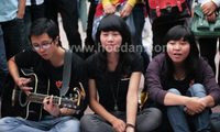 Busking – passion more than music