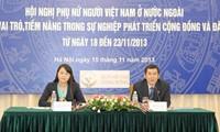 Promoting Vietnamese women's role overseas