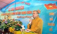 1,000 Buddhists in Quang Ninh pray for peace in East Sea