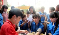 Summer Volunteer Campaign 2015 kicks off in Thai Nguyen