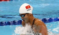 Anh Vien wins bronze medal at FINA Swimming World Cup