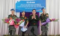 Vietnam active in UN peacekeeping missions in 2015