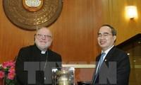 VFF President welcomes German Cardinal