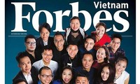 Forbes Vietnam announces outstanding individuals of 2016