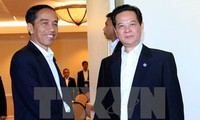 PM holds talks with Indonesia's president